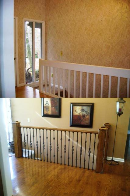 Stair Before and After